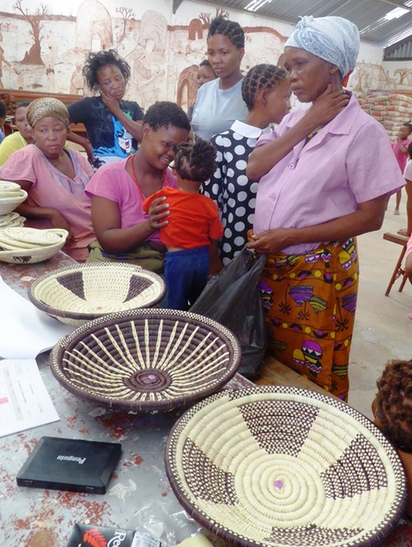 Amazing Handicraft made by the ombili people